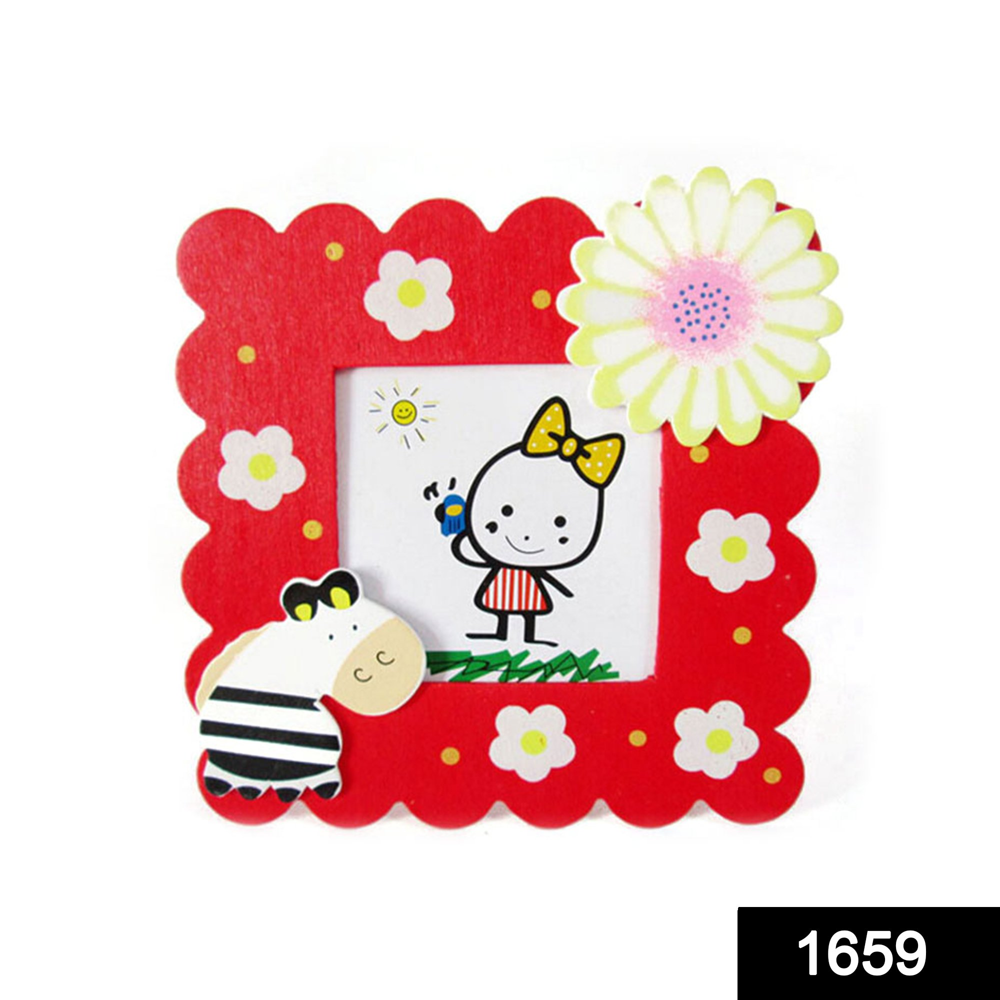 1659 Synthetic Table Photo Frame for Home Decor -