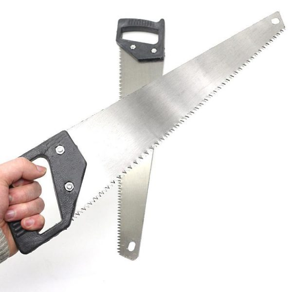 1555 Powerful Hand Saw with Hardened Steel blades 450mm -