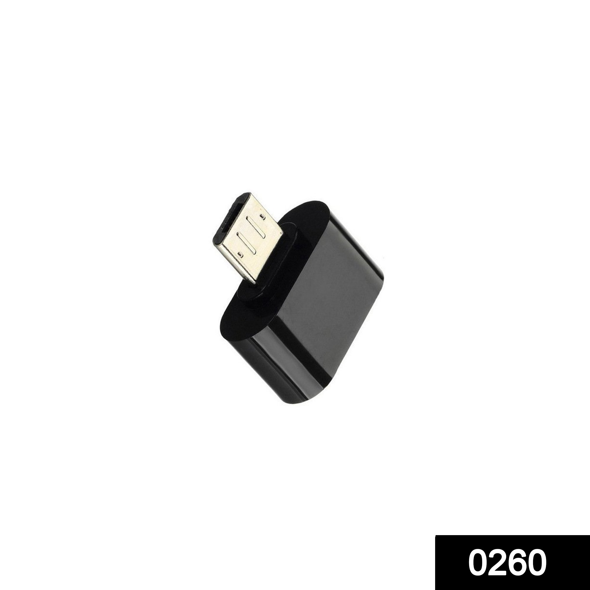 0260 Micro USB OTG to USB 2.0 (Android supported) -