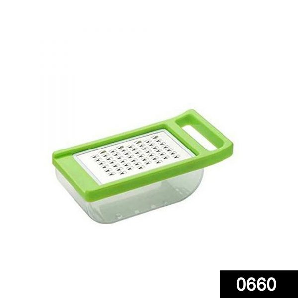 0660  Cheese Grater/Slicer/Chopper With Stainless Steel Blades -