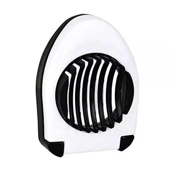 2129 Oval Shape Plastic Multi Purpose Egg Cutter/Slicer with Stainless Steel Wires -