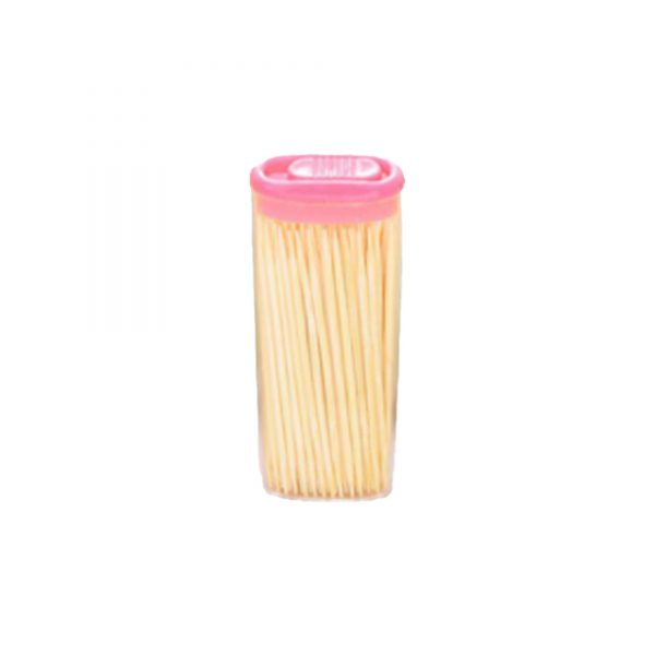 1095 Bamboo Toothpicks with Dispenser Box -