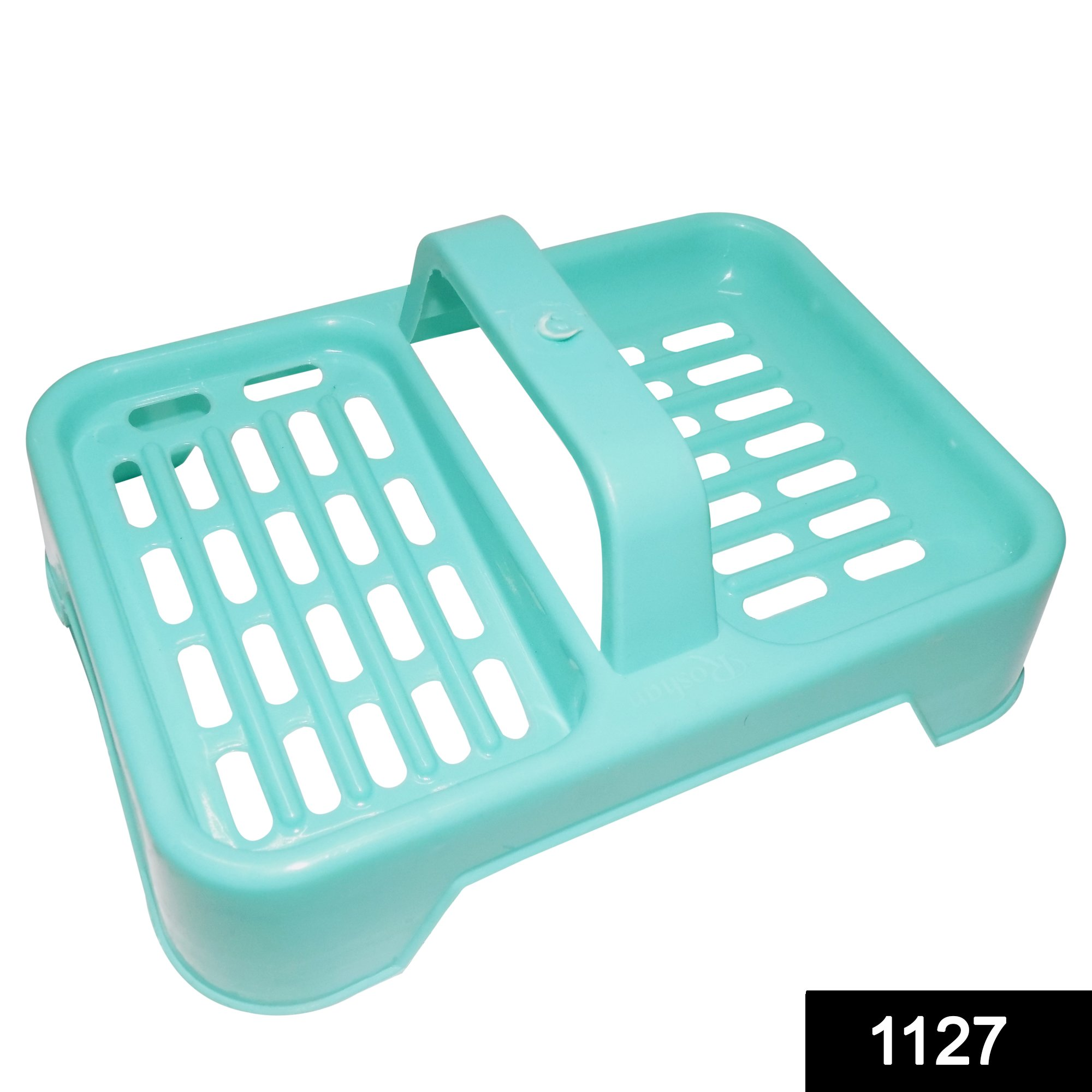 1127 2 in 1 Soap keeping Plastic Case for Bathroom use -