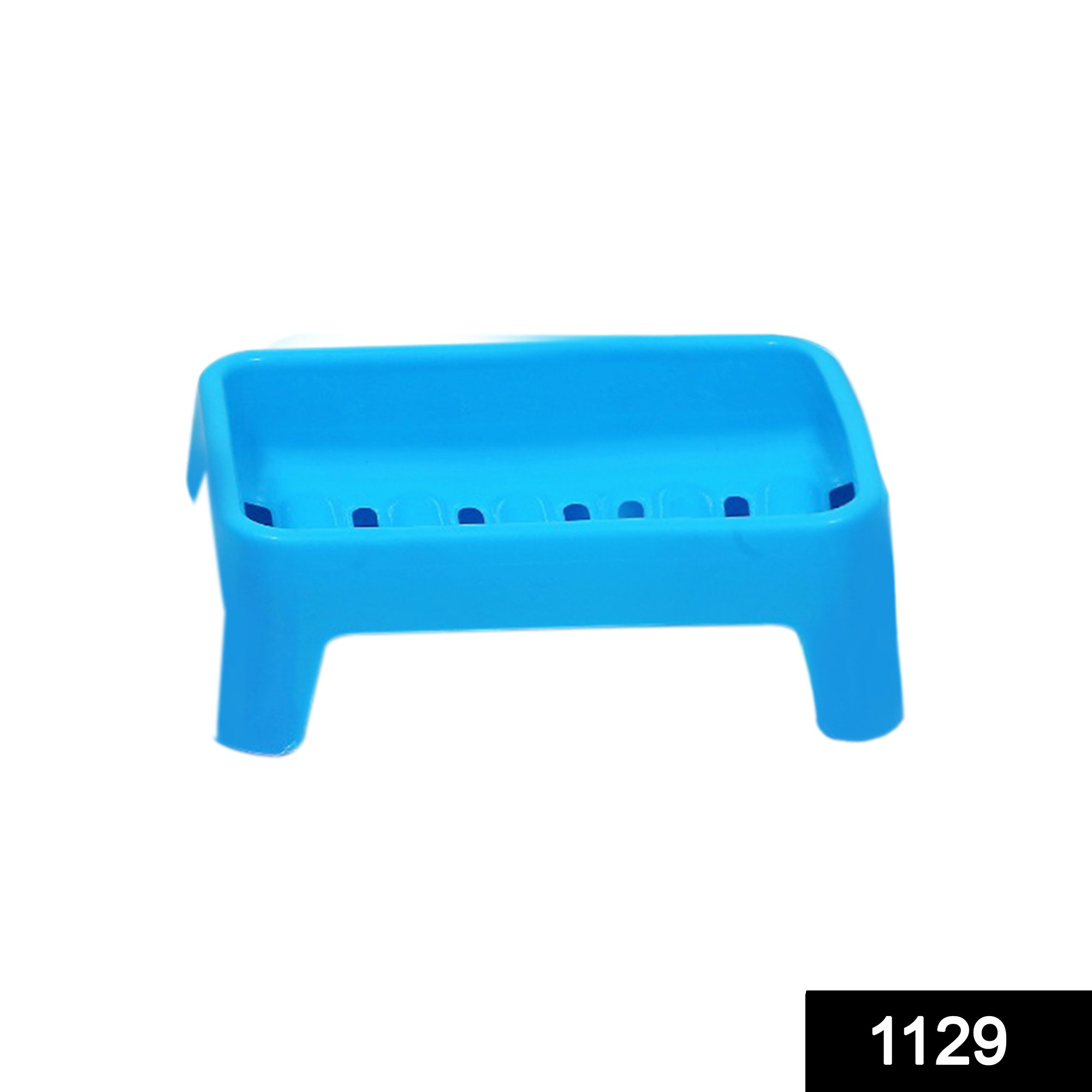 1129 Simple Soap keeping Plastic Case for Bathroom use -