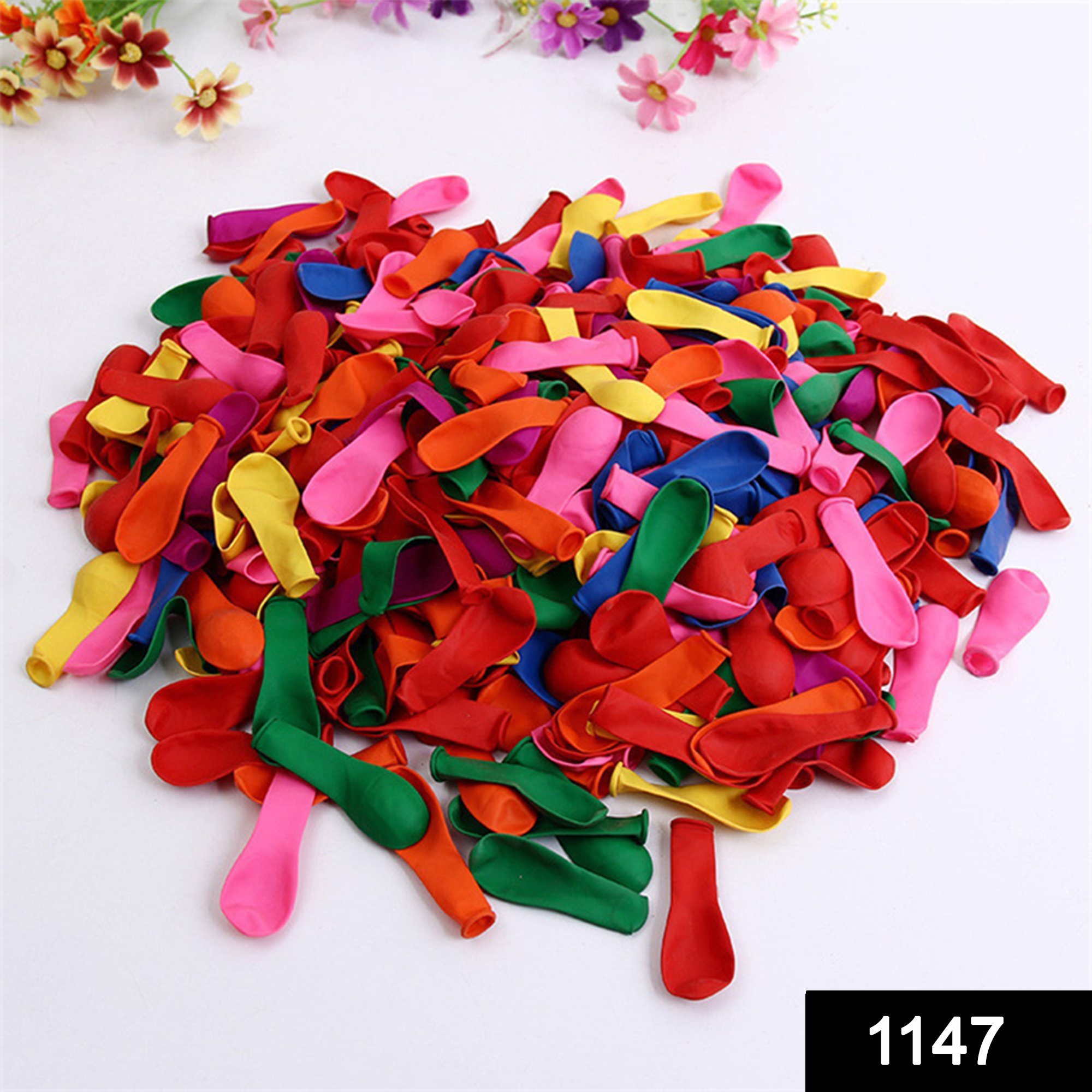 1147 Non Toxic Holi Water Balloons (Pack of 500 Balloons) (Multicolour) -