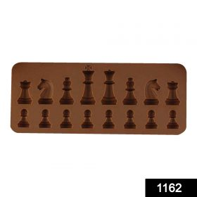 1162 Silicone Chocolate Chess Shaped Mould - 16 Cavity -