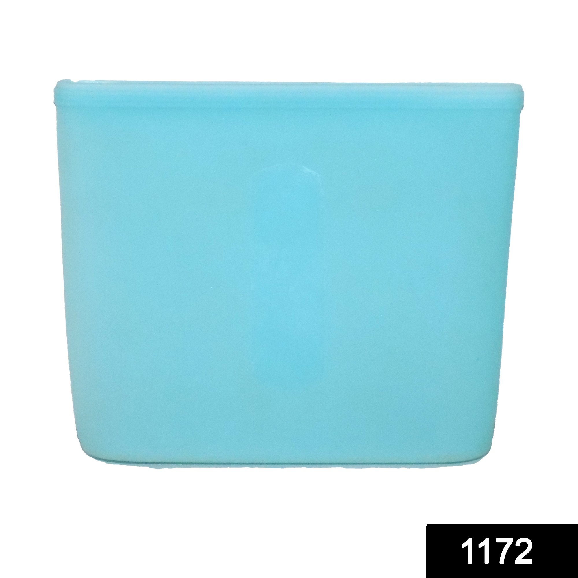 1172 Silicone Food Bag Reusable Airtight Seal Storage Container Freezer Leak-Proof (750Ml) -