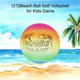 1272 Beach Ball Soft Volleyball for Kids Game -