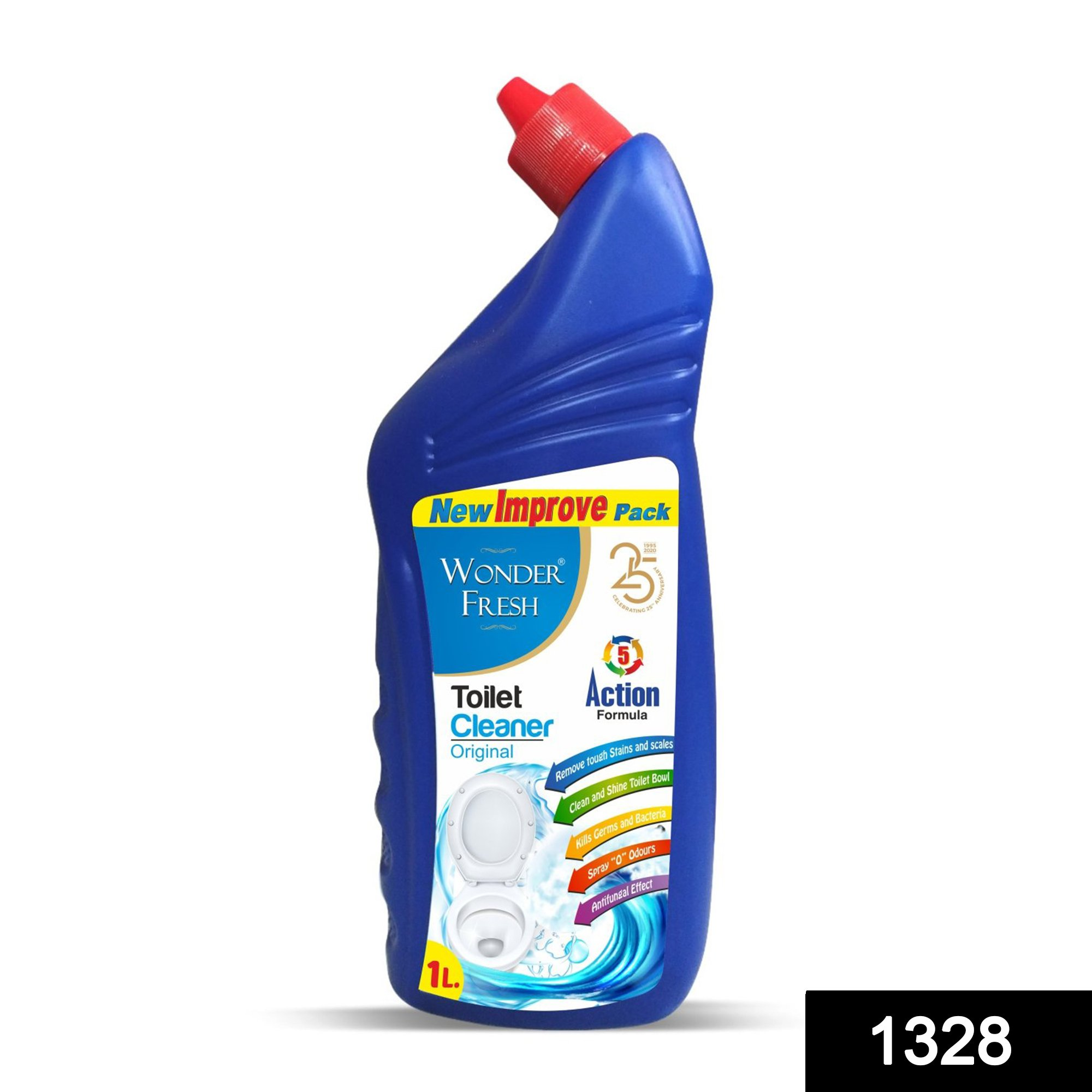 1328 Toilet Cleaner for Cleaning Toilet (1ltr) -