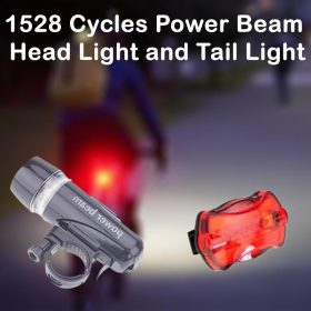 1528 Cycles Power Beam Head Light and Tail Light -