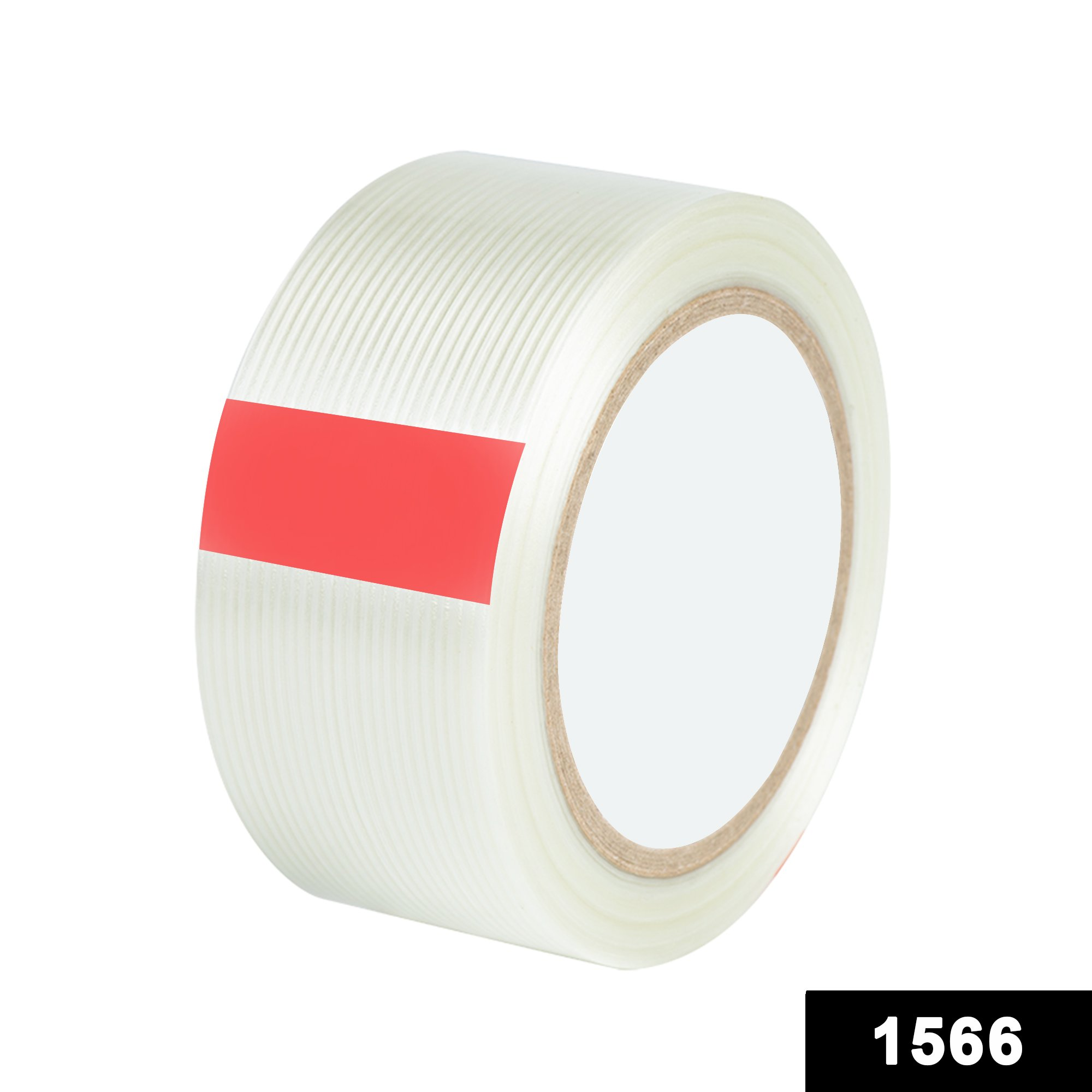 1566 Transparent Strong Tape Rolls for Multipurpose Packing Use -