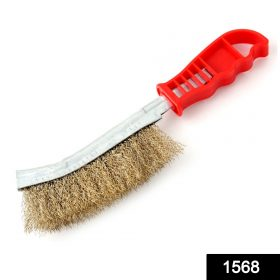 1568 Stainless Steel Wire Hand Brush Metal Cleaner Rust Paint Removing Tool -