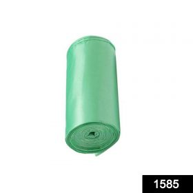 """1585 Bio-degradable Eco Friendly Garbage/Trash Bags Rolls (19"""" x 21"""") (Green) (Pack of 30) -"""
