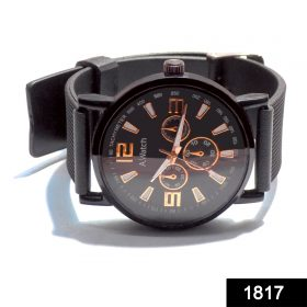 1817 Unique & Premium Analogue Stylish Watch With Silicon Wrist Band -