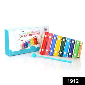 1912 Wooden Xylophone Musical Toy for Children (MultiColor) -