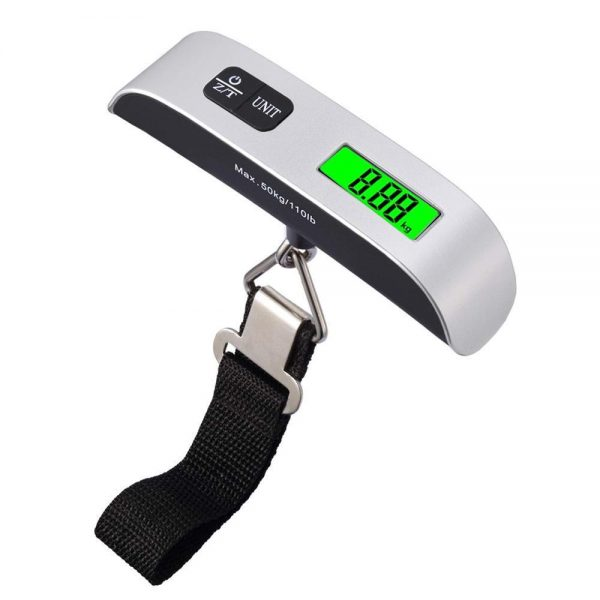 0546 Portable LCD Digital Hanging Luggage Scale -