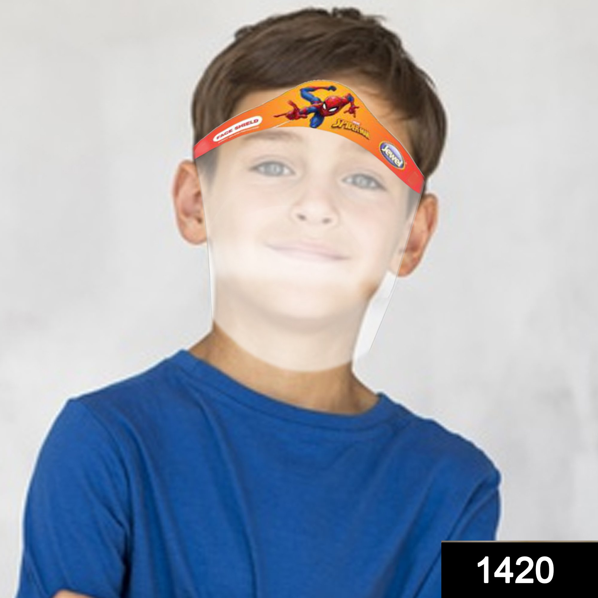 1420 KIDS Face Shield Isolation Mask for Eyes Nose Full Frontal Protection -