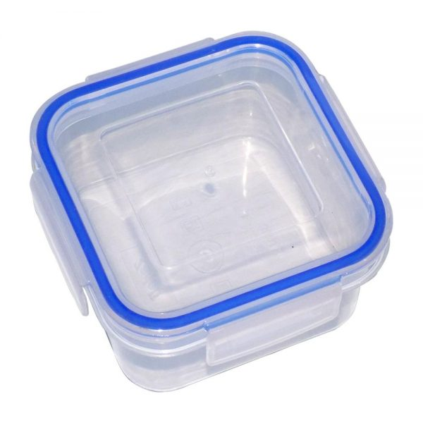 3683 Plastic Airtight Locked Food Storage Containers For Kitchen (1200ml) (multicolour) -