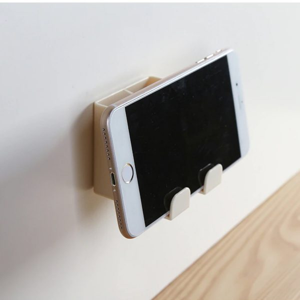 1146 Air Conditioner Remote Mobile Phone Wall Mount Storage Holder (Multicolour) -