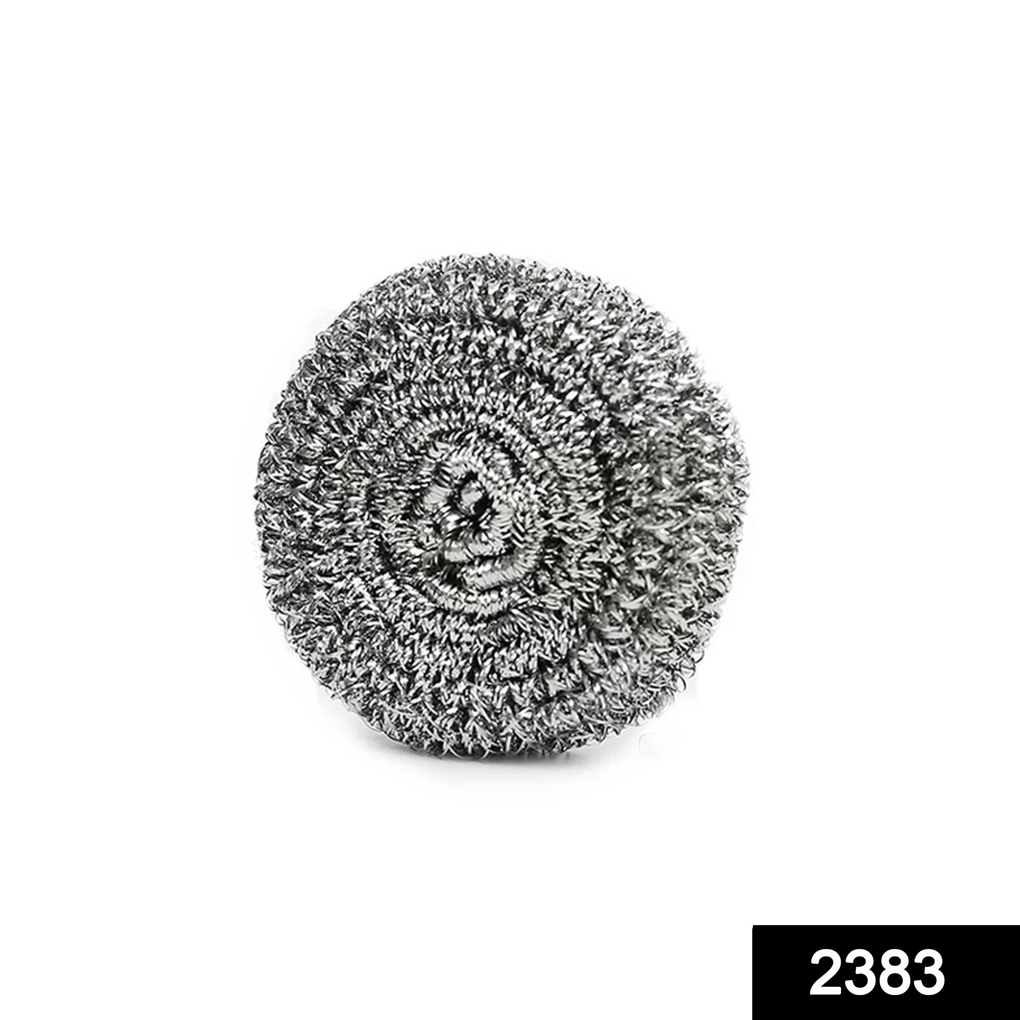 2383 Round Shape Stainless Steel Ball Scrubber -