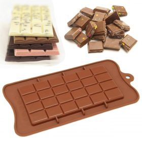 1076 Silicon Bar chocolate Baking Mould of 24-Cavity -