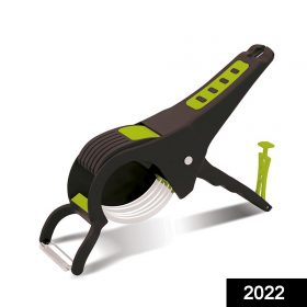 2022 Maitri Plastic Vegetable Cutter, Slicer and Peeler with locking system -