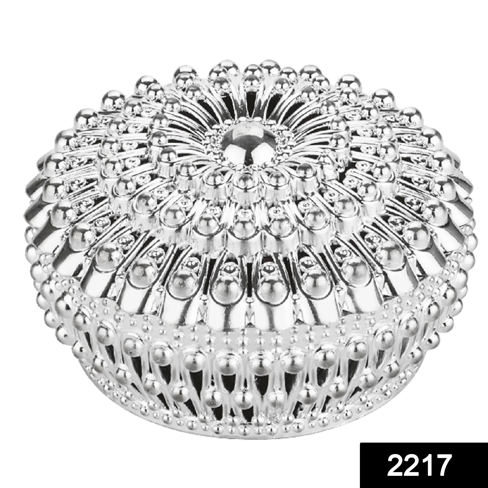2217 Decorative Bowl with Lid for Candy Box, Dry Fruit Box -