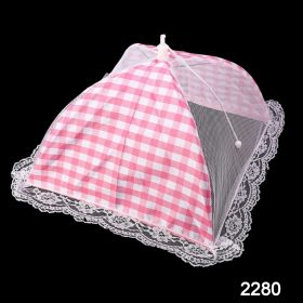 2280 Food Covers Mesh Net Kitchen Umbrella Practical Home Using Food Cover (Multicolour) -
