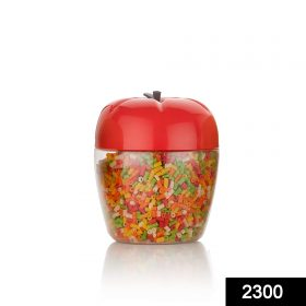 2300 Jar/Container with Apple Shape for Kitchen Storage (250Ml) -