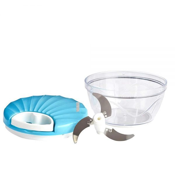 2014_Vegetable Handy Chopper with 3 Blades, 550 ml (Multicolor) -