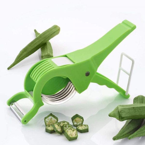 0158 Vegetable Cutter with Peeler -