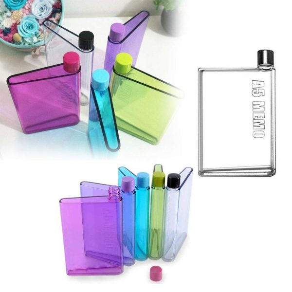 0137 A5 Size Notebook Plastic Bottle (Any color) -