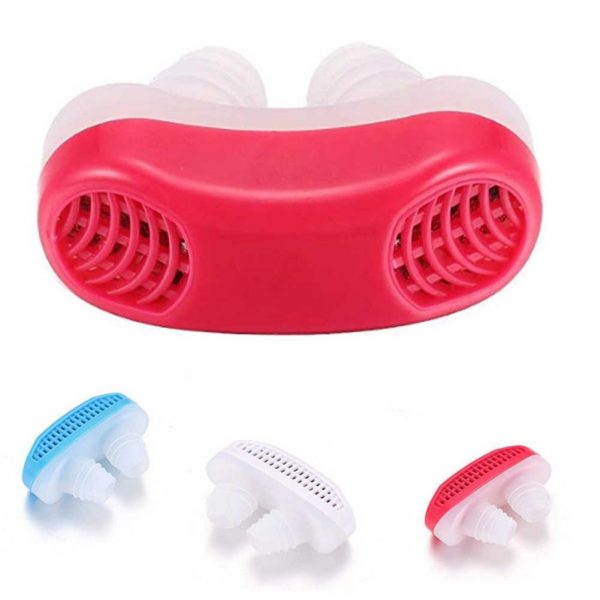 0353 - 2 in 1 Anti Snoring and Air Purifier Nose Clip for Prevent Snoring and Comfortable Sleep -