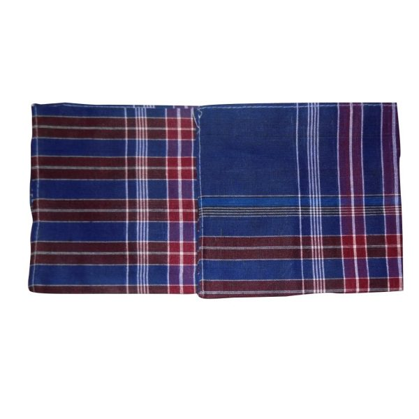 1533 Men's Cotton King Size Formal Handkerchiefs for Office Use -