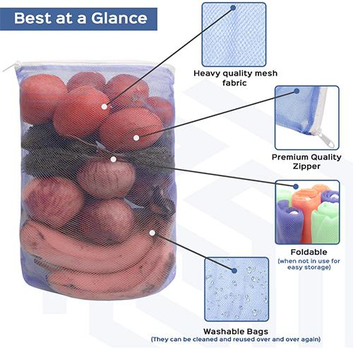 2163 Reusable Food Storage Bag Containers for Vegetable -
