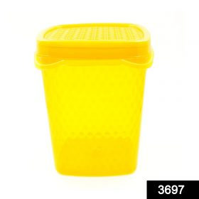 3697 Unbreakable Air Tight Food Storage Jar Kitchen Container (500ml) (Multicoloured) -