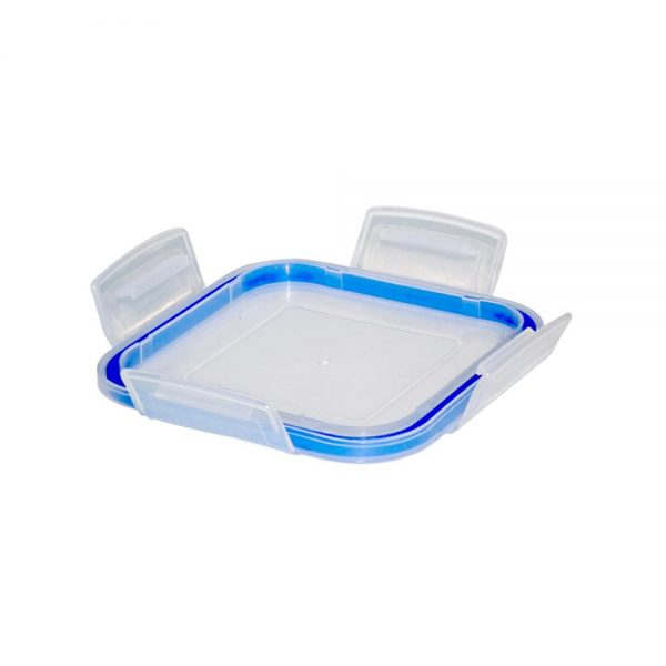 3681 Plastic Airtight Locked Food Storage Containers For Kitchen (300ml) (multicolour) -