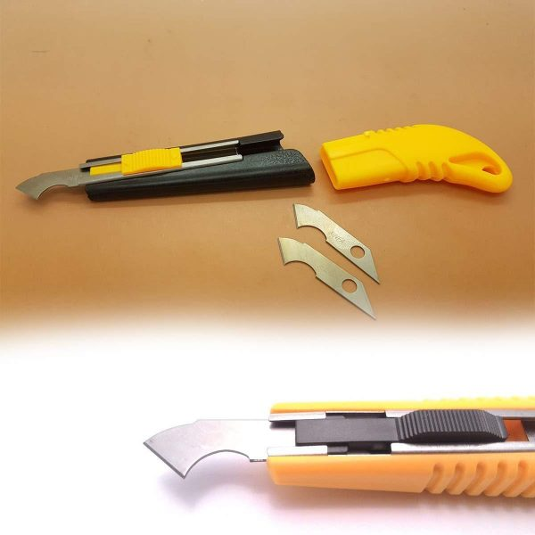 0418 Multi-Use Plastic Cutter with Plastic Cutting Blade and Precision Knife Blade -