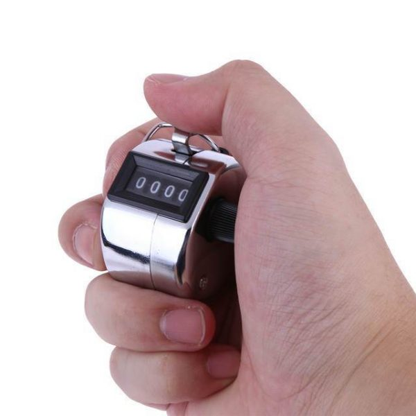1550 4 Digits Hand Held Tally Counter Numbers Clicker -