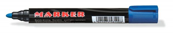 1624 Blue Permanent Markers for White Board (Pack Of 10) -