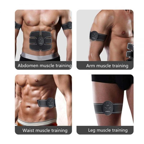 0390 Abdominal & Muscle Exerciser Training Device Body Massager -