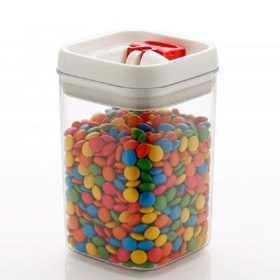0853 Airtight Kitchen Container with Flip Lock for Multipurpose Use (500 ml) -