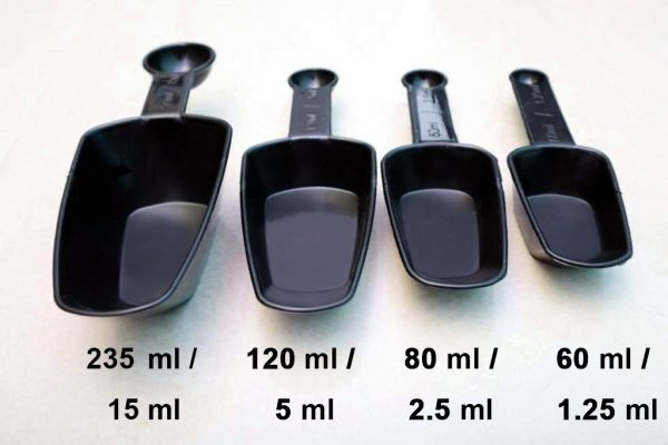 2178 Plastic Measuring Cup Set  fort Kitchen Utility (4pc) (With box) -