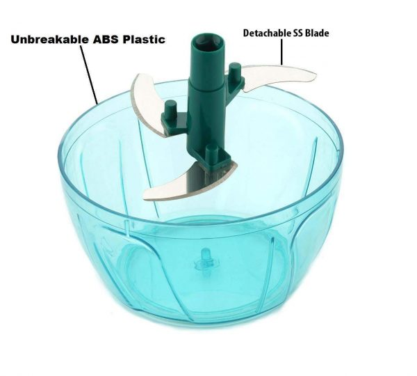 0727 Manual Handy and Compact Vegetable Chopper/Blender -