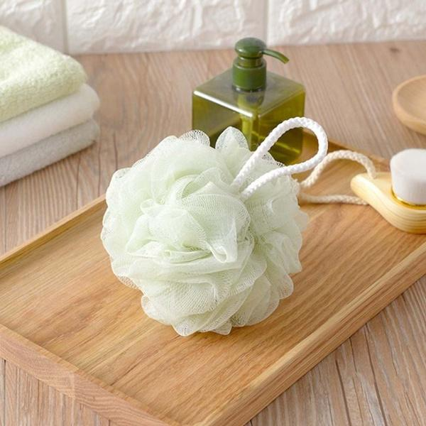 1462 Bath Sponge Round Loofah and Back Scrubber for Men and Women -
