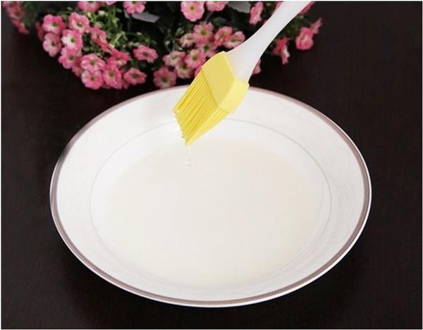2153 Silicone Spatula and Pastry Brush Special Brush for Kitchen Use -