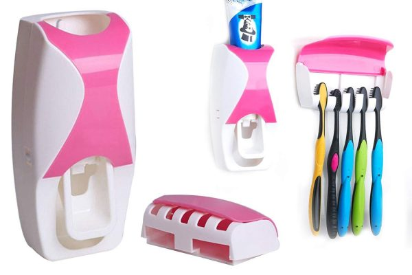0200 Toothpaste Dispenser & Tooth Brush with Toothbrush -