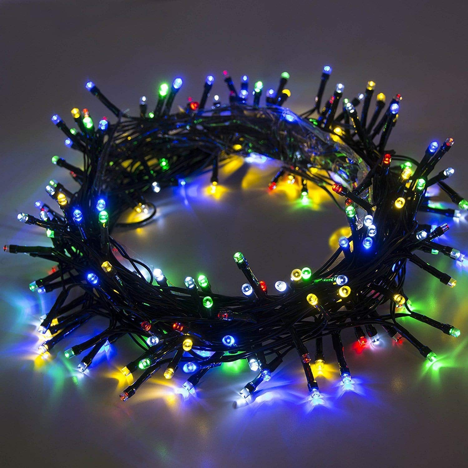 1229 Outdoor String Light with LED Bulbs for Outdoor Lights (8 Meters) -