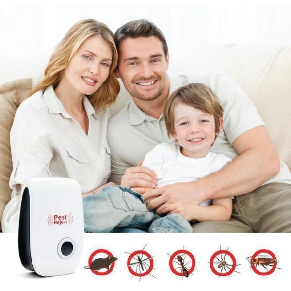 1260 Ultrasonic Pest Repeller to Repel Rats, Cockroach, Mosquito, Home Pest & Rodent -