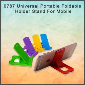 0787 Universal Portable Foldable Holder Stand For Mobile -